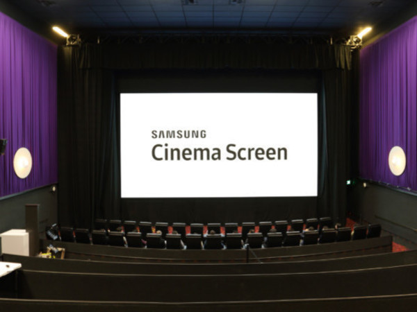 Goodbye projectors? Samsung installs first LED movie theater display