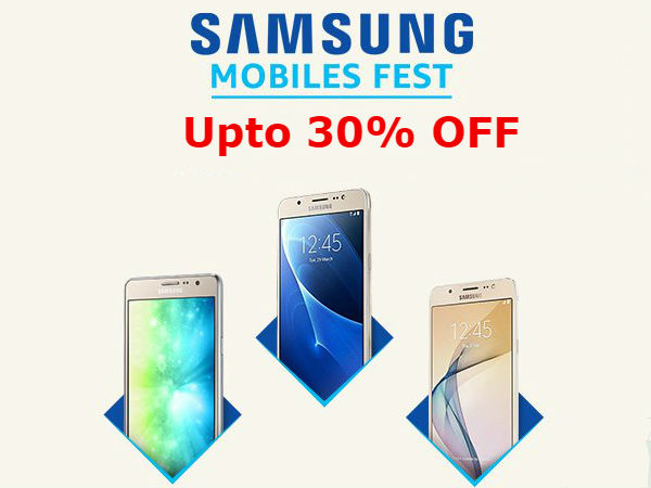 Samsung Mobile Fest: Upto 30% off on mid-range, budget, high-end phone