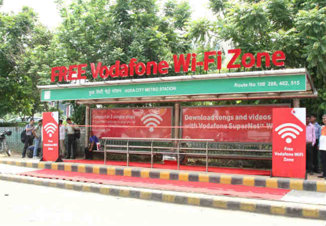 Vodafone launches Gurugram's first Wi-Fi enabled bus shelter