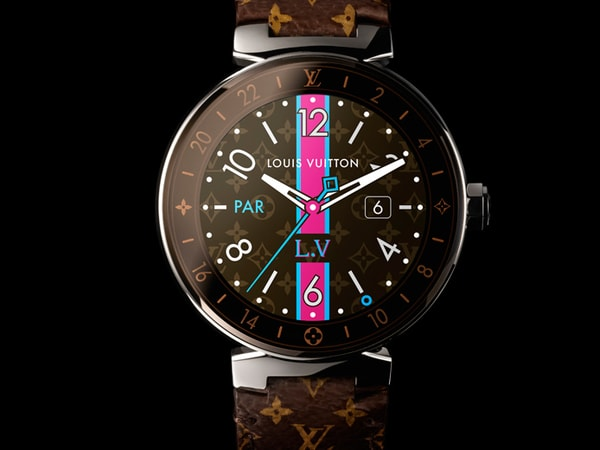 Louis Vuitton Launches Its First Android Wear Smartwatch