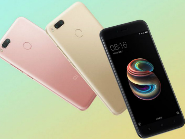 Xiaomi Mi 5X launched with dual rear cameras; sale debuts on August 1