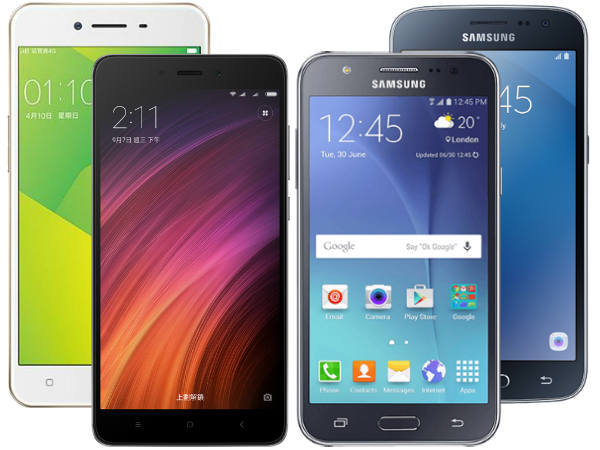 Best smartphones under Rs. 10,000: Redmi Note 4, Galaxy J2, Oppo A37