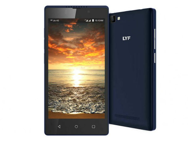 Reliance launches LYF C459 4G VoLTE smartphone in India for Rs. 4,699