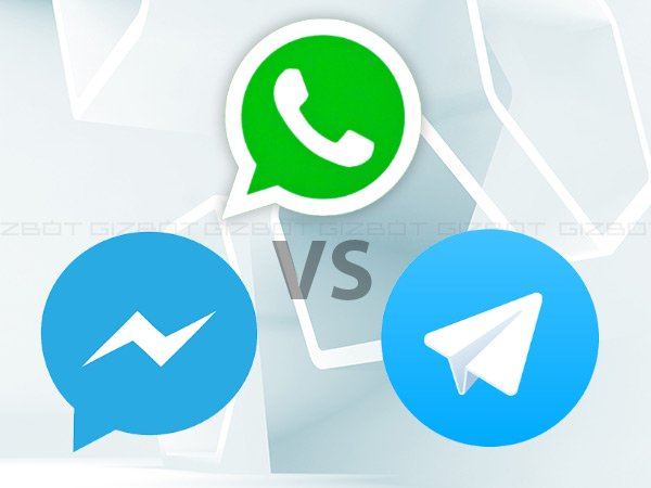 Whatsapp vs Facebook Messenger vs Telegram: What makes them different