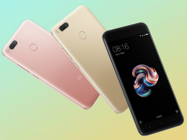 Xiaomi Mi 5X to go on sale from August 1