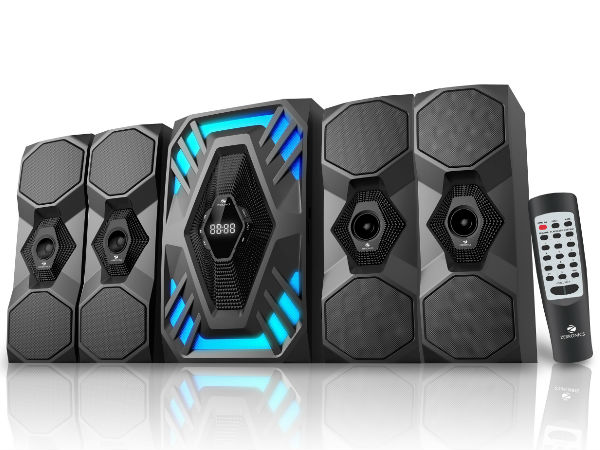"Zebronics launches affordable ""Future"" 2.1 & 4.1 speakers in India"