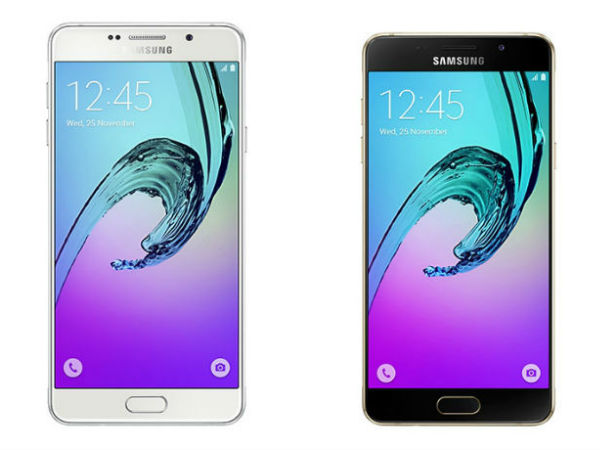 20% off on Samsung A5 2016 Edition (Gold)