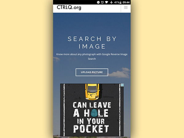How to use reverse image search on Google
