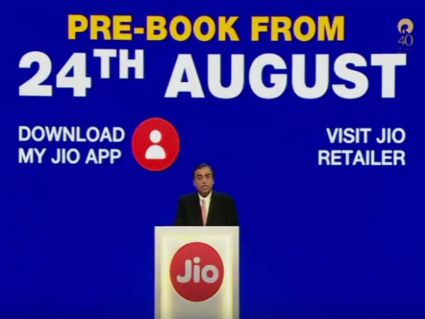 Jio Phone booking online and offline