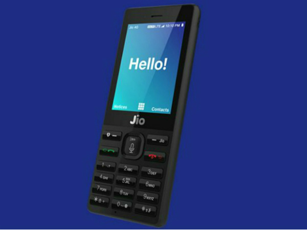 JioPhone features and specs