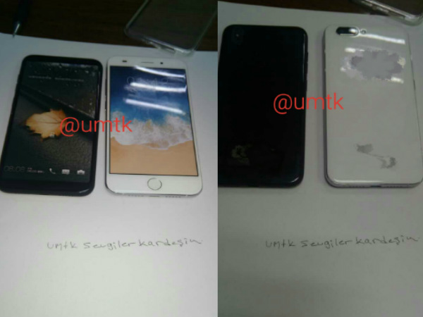 Alleged images of iPhone 8, 7s Plus dummy models surface online