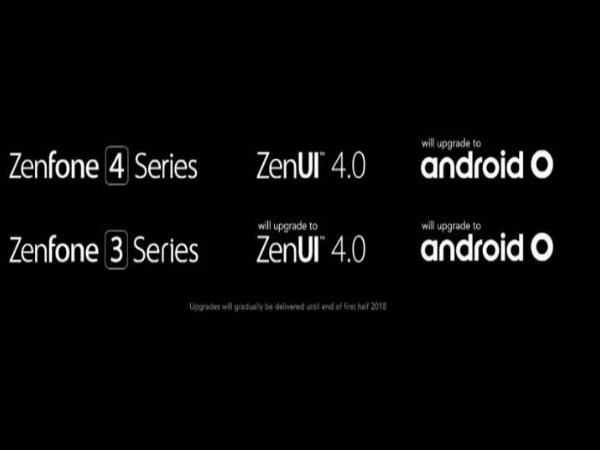 Asus ZenFone 3 and ZenFone 4 series confirmed to get Android O update