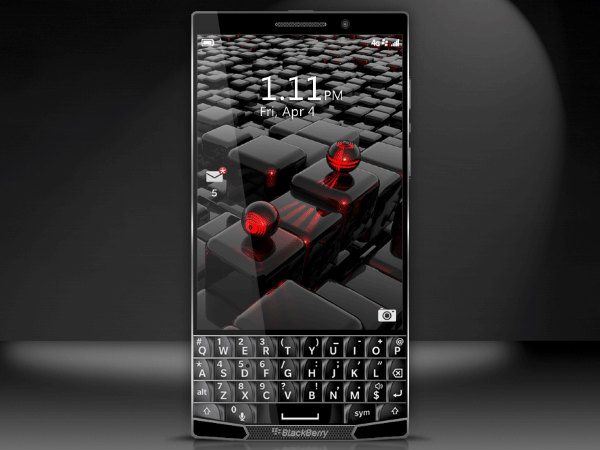New All Touchscreen BlackBerry Due This October