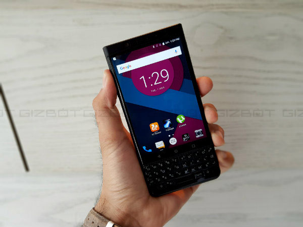 BlackBerry KEYone First Impressions