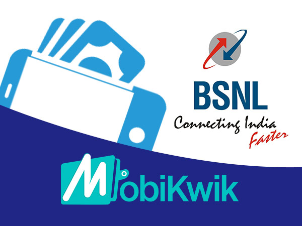 BSNL Launches Digital Wallet in Association with Mobikwik