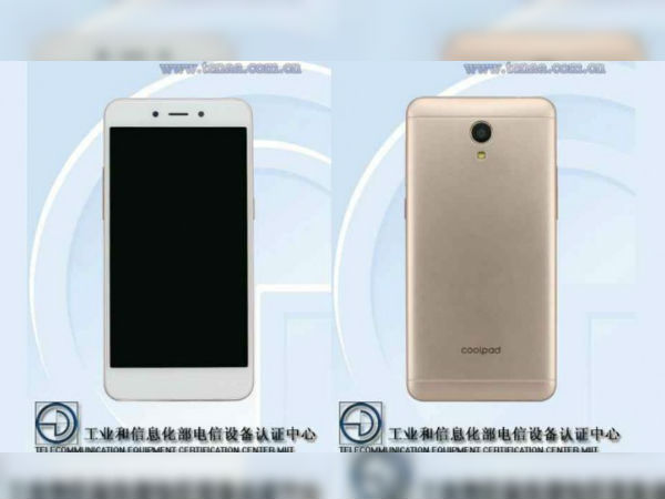 Entry-level Coolpad smartphone with 4G VoLTE 8MP camera spotted