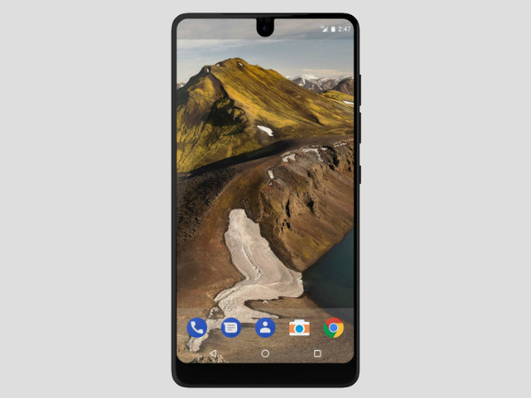 The Essential phone will start shipping in a week