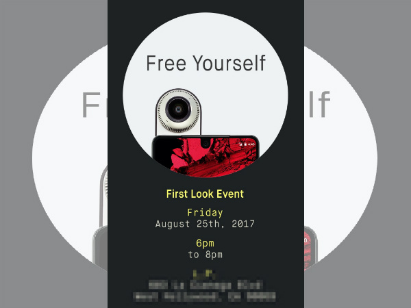 Essential Phone to be showcased on August 25