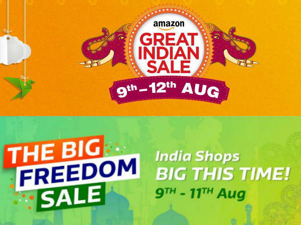 Flipkart and Amazon Freedom Sale: Upto 40% off on smartphones