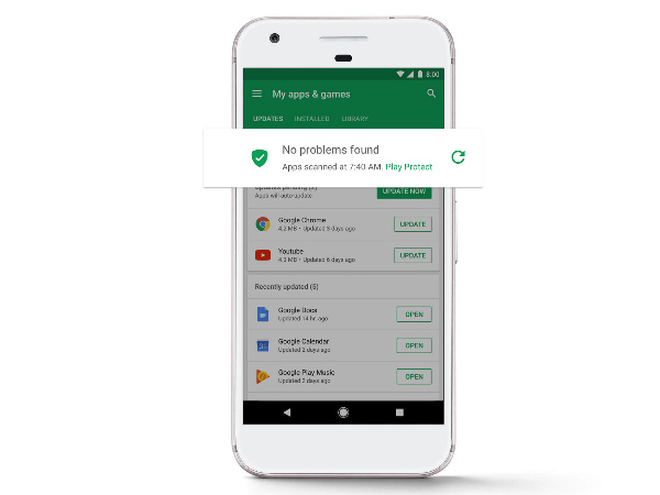 Google certified Android devices are the most safe and secure devices