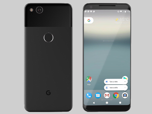 Google Pixel 2 XL to sport a 5.99-inch bezel-less display