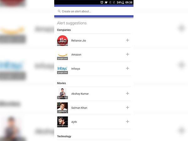 How to set-up a Google Alert?