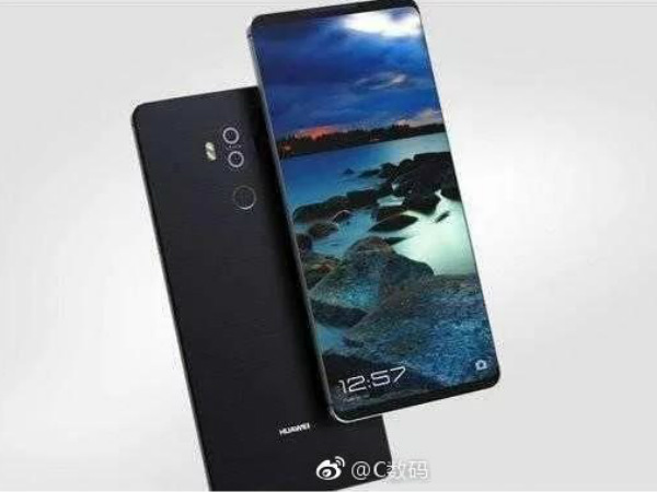 Huawei Mate 10 renders leaked: Will feature bezel-less display like the Galaxy S8