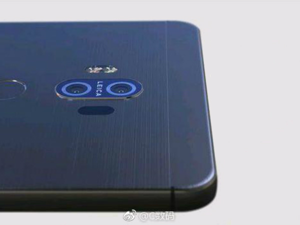 Huawei Mate 10 renders leaked: Bezel-less display, four cameras & more