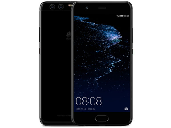 Huawei P10 Plus in Bright Black color launched