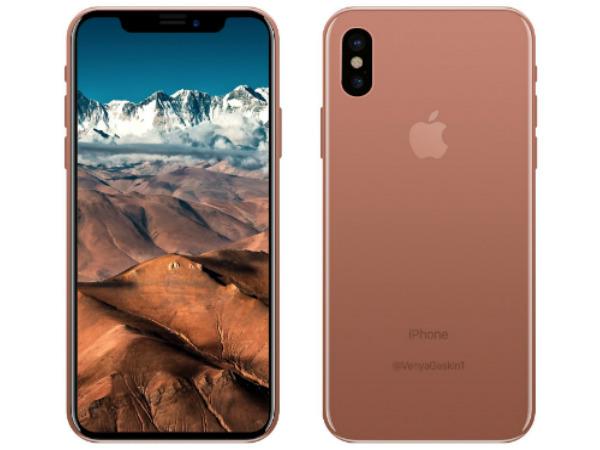 iPhone 8 render leaks in Copper; Concepts show elegant design
