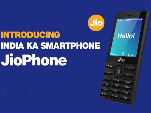 Order/ Book 4G Free Jio Phone From 24th August