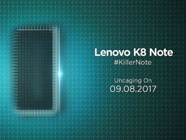 Lenovo K8 Note to be launched today: Watch the live stream here