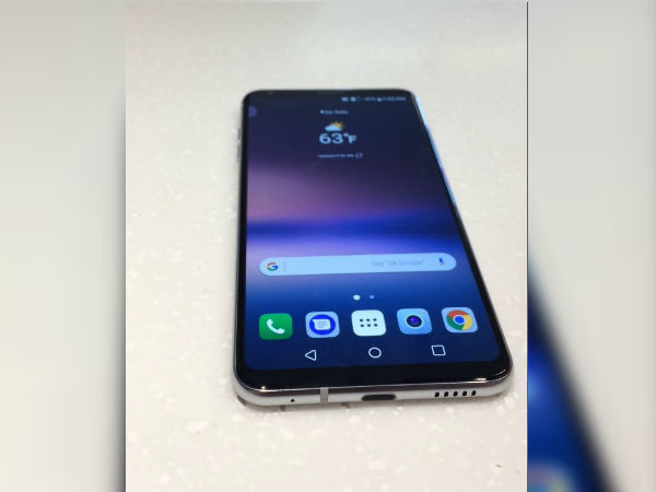 LG V30 live image leaked ahead of official launch