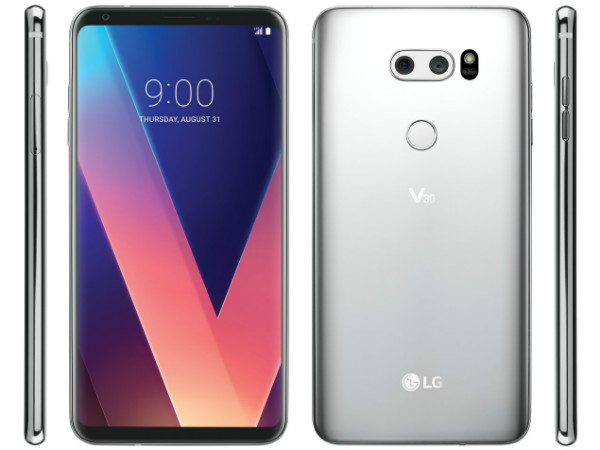 Logo of LG V30's Plus variant surfaces online