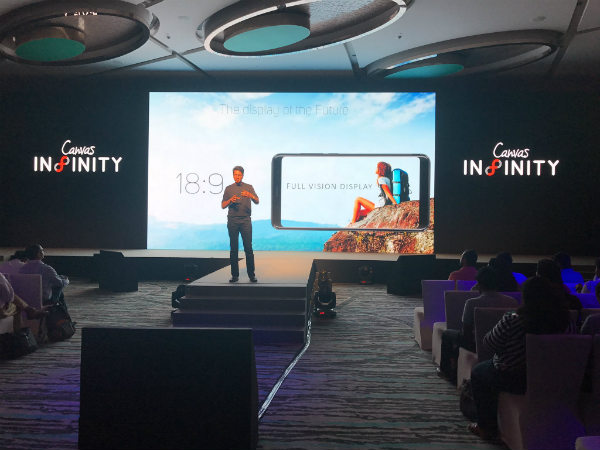 Micromax Canvas Infinity launched at Rs. 9,999