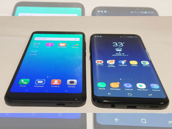 Micromax Canvas Infinity leaks against Galaxy S8