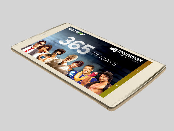 Micromax launches Canvas Plex Tab for Rs. 12999