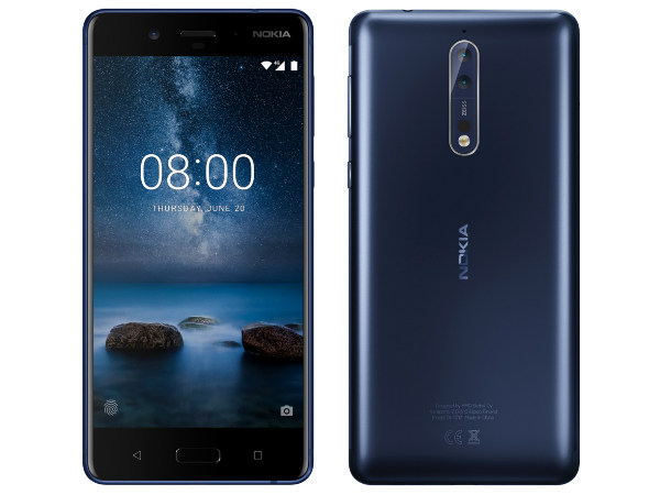 Nokia 8 likely to arrive with a 13MP selfie camera
