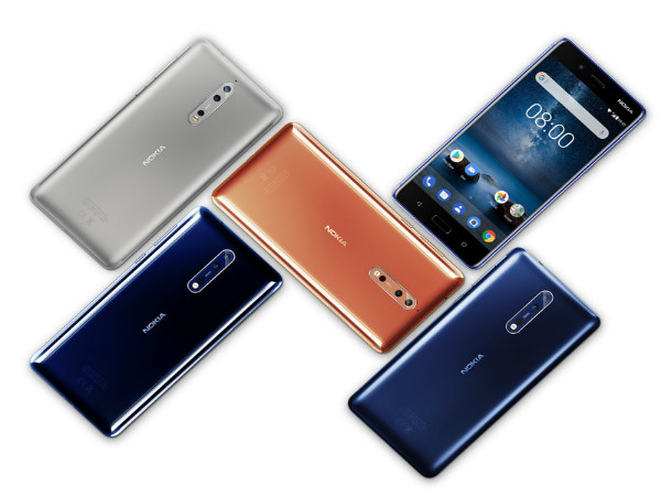Nokia 8 with dual rear cameras announced: Price, specs, features, release date and more