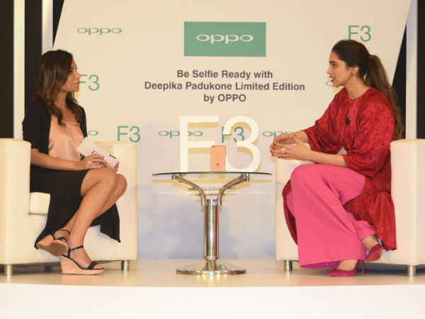 Oppo F3 Deepika Padukone Limited Edition launched