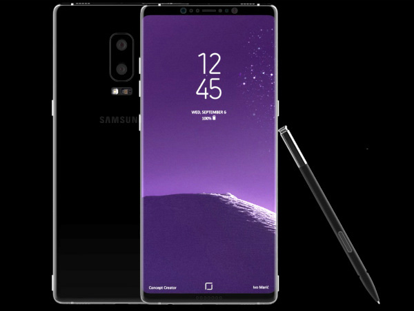 Samsung Galaxy Note 9 might be the first smartphone with a built-in breathalyzer