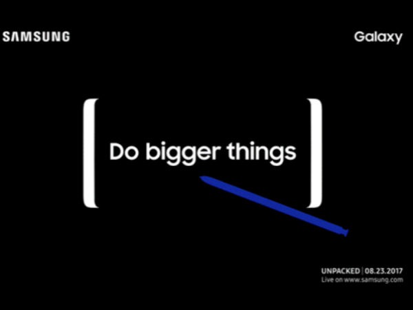Samsung Galaxy Note 8 could go on sale from August 24