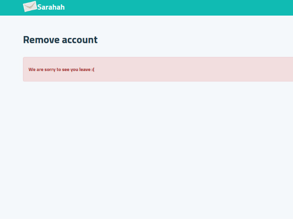 Sarahah faces server outage and log-in issues: How to delete account?