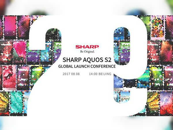 SHARP AQUOS S2 with full-screen display to launch on August 8