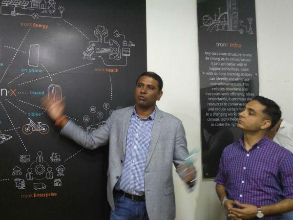 Smartron unveils tronX: India's first AI powered IoT platform