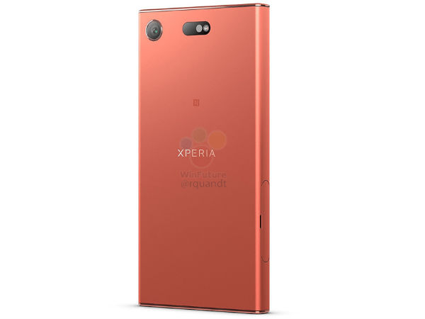 Sony Xperia XZ1 Compact official renders and pricing leaked