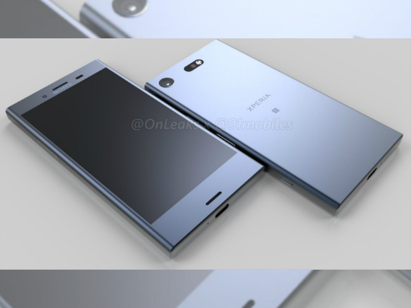 Sony Xperia XZ1 Compact renders emerge online ahead of launch