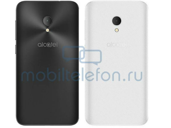 Alcatel U5 HD smartphone listed on official website