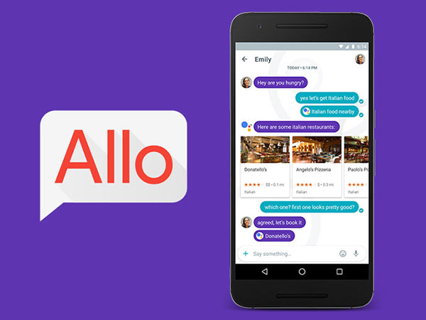 A desktop version of Google Allo is now available