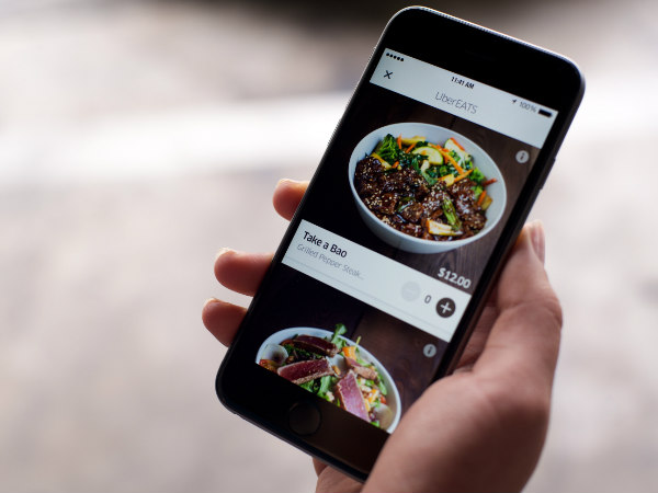 "Uber launches ""UberEATS"" food ordering service in India"